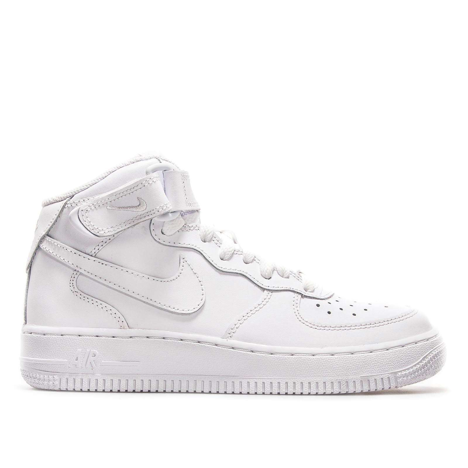 Nike Air Force 1 GS Mid 06 Wht Wht