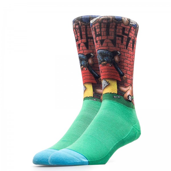 Stance Socks Anthem Doggy Style Green
