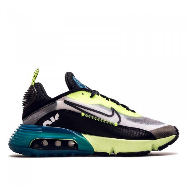 Damen Sneaker Air Max 2090 White Black Volt Blue
