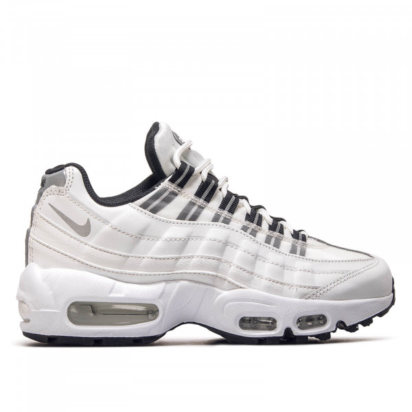 Nike Wmn Air Max 95 White Silver Black