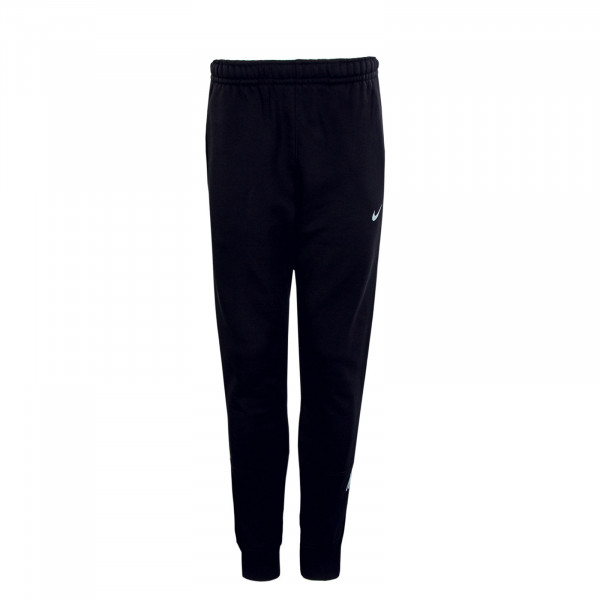 Herren Pant Repeat FLC Black Reflective Silver