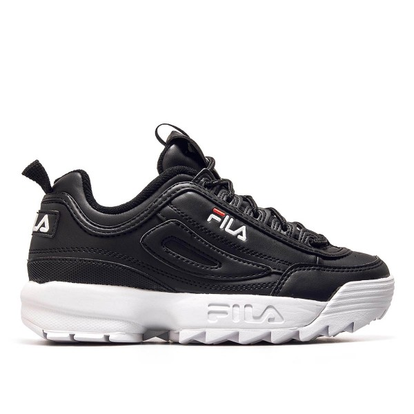 Fila Wmn Disruptor Low Black