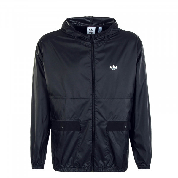 Herren Windbreaker Light Black White