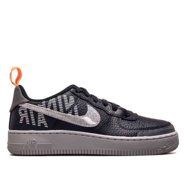 Damen Sneaker Air Force 1 LV8 2 GS Black Grey