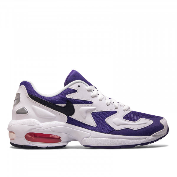 Unisex Sneaker Air Max 2 Light White Purple Black