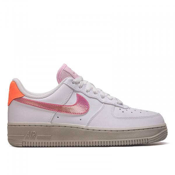 Damen Sneaker Air Force 1`07 Wht Rosa Orange