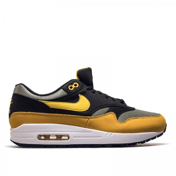 Nike Air Max 1 Yellow Black Grey