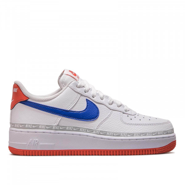 Nike Air Force 1 '07 LV8 White Royal Red