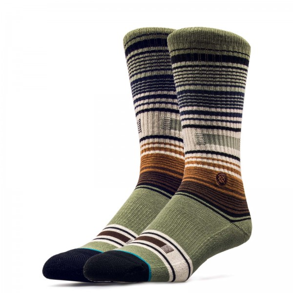 Stance Socks Foundation Hatchets Green
