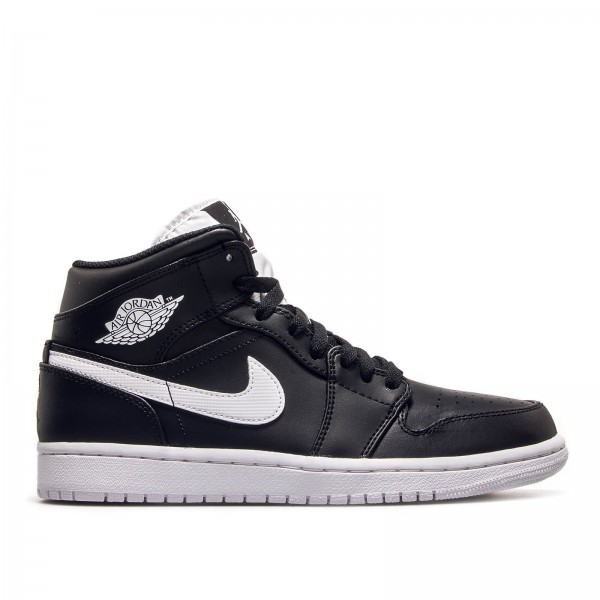 Nike Air Jordan 1 Mid Black White