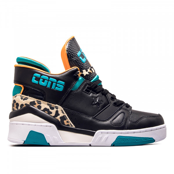 Herren Sneaker ERX 260 Mid Black Teal Orange
