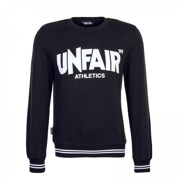 Unfair Sweat Classic LabelCrewneck Black