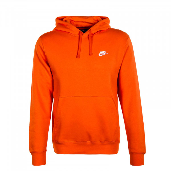 Herren Hoody Club Fleece BV2654 Orange White