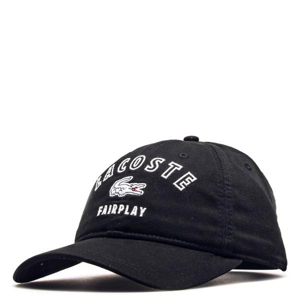 Lacoste Cap Fairplay Black