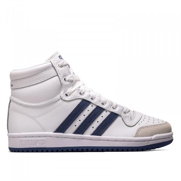 Unisex Sneaker - Top Ten - White / Blue / White
