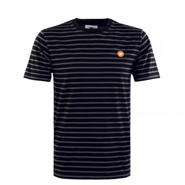 Herren T-Shirt - Ace - Black / Grey / Stripes