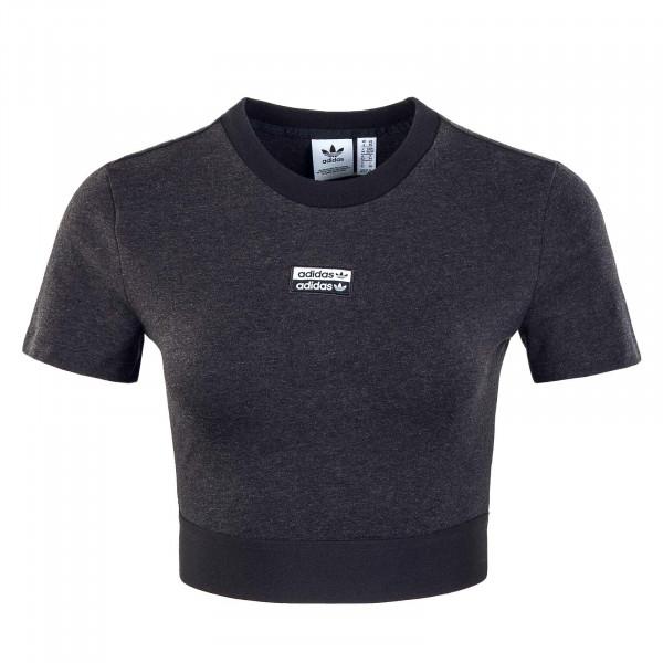 Damen T-Shirt - Cropped GN4324 - Black / Melange