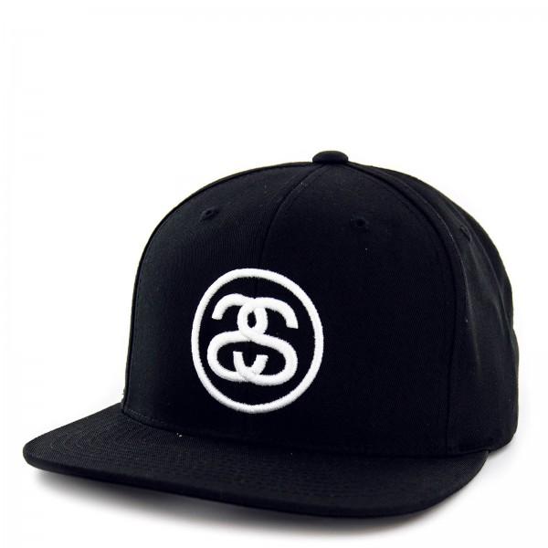 Stüssy Cap SS Link Black White