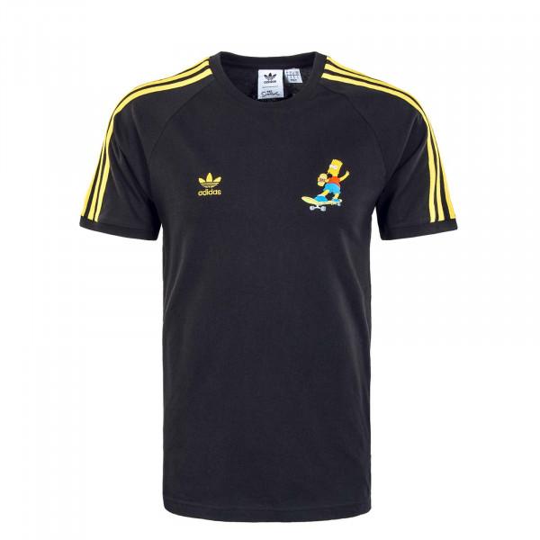 Herren T-Shirt - Simsons 3S HA5815 - Black