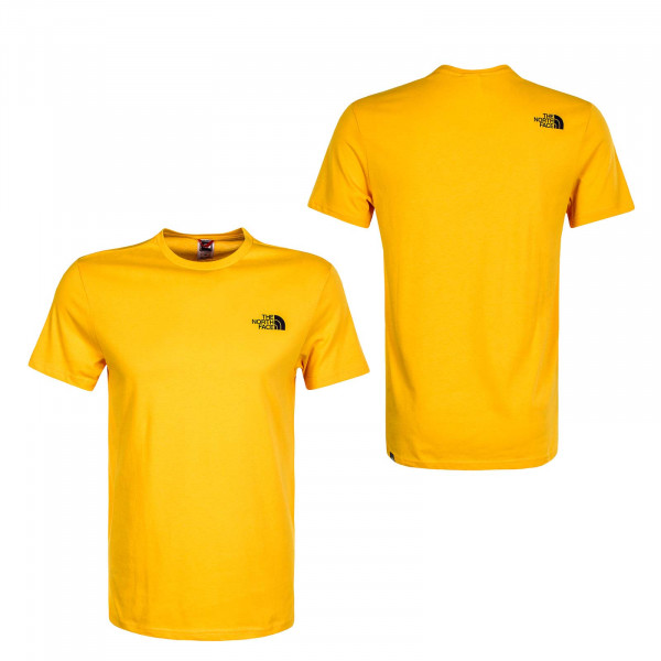Herren T-Shirt Simple Dome Summit Gold