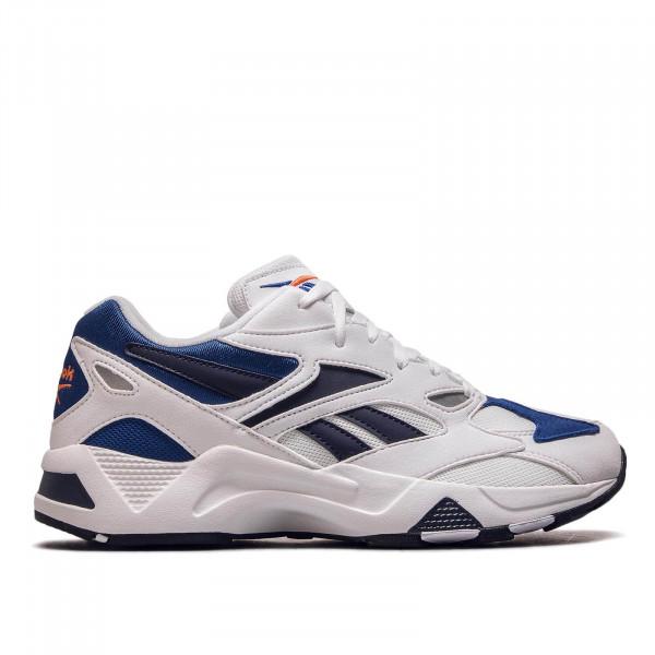 Herren Sneaker Aztrek White Navy Blue
