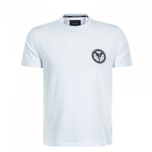 Herren T-Shirt C2416 White Black