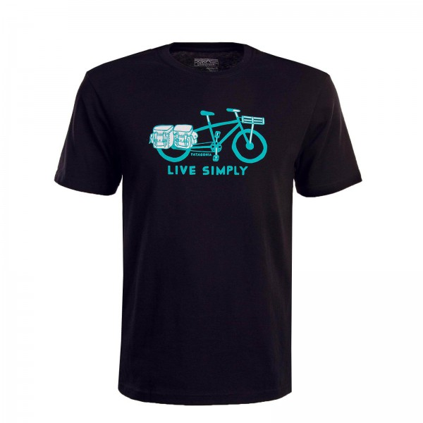 Patagonia TS Live Simply Bike Black