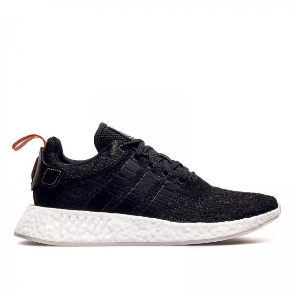 Adidas NMD R2 Black Black White