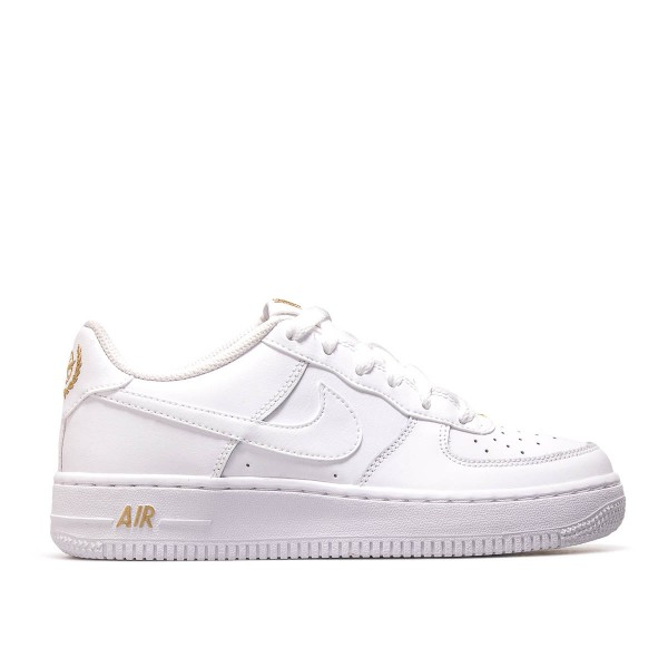 Nike Wmn Air Force 1 White White Gold