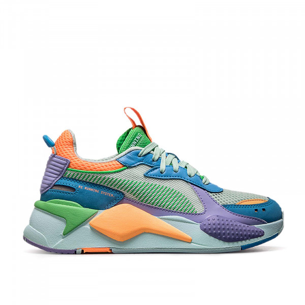 Puma RS X Toys Green Blue Lavender