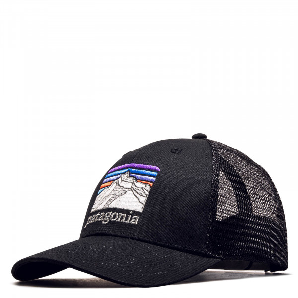 Trucker Cap Line Logo Ridge Black