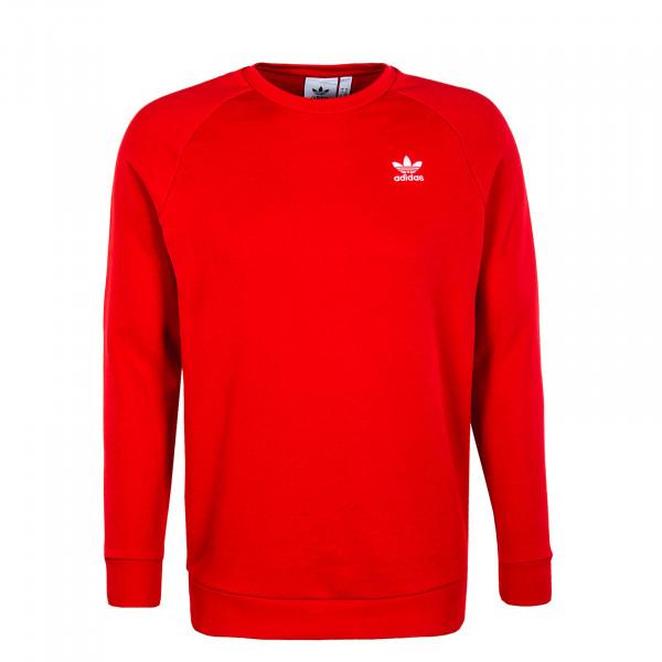 Herren Pullover - Sweat Essential Crewneck - Red