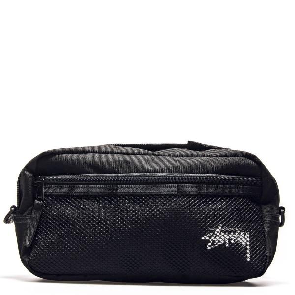 Stüssy Hip Bag Stock Side Black