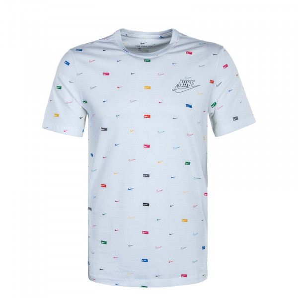 Herren T-Shirt Multi Color CW0477 White