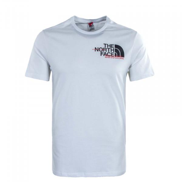 Herren T-Shirt - Coord - White