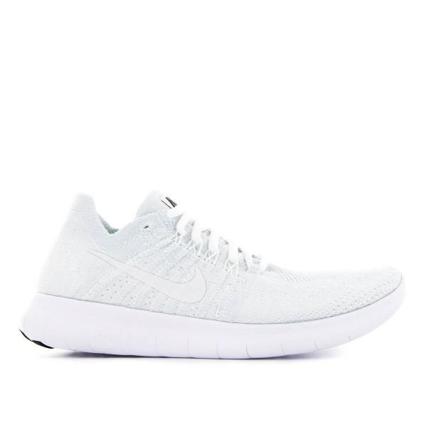 Nike Wmn Free RN Flyknit White White