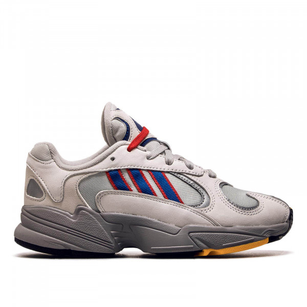 Adidas Yung 1 Grey Royal Red