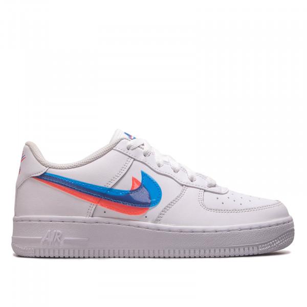 Damen Sneaker Air Force 1 LV8 White Blue Pink