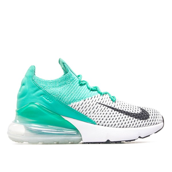 Nike Wmn Air Max 270 Flyknit Green White