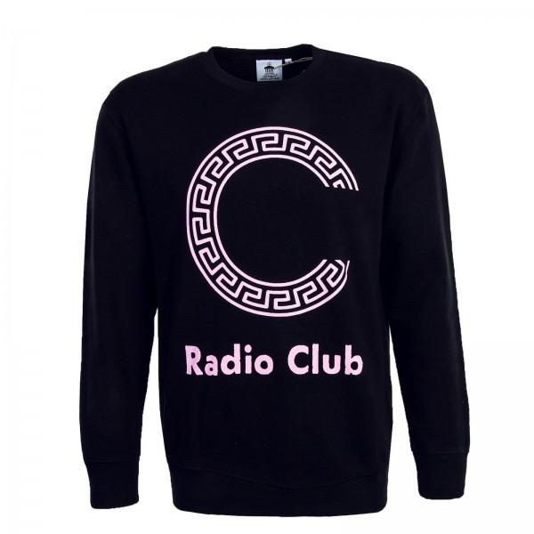Carhartt Sweat Radio Club Black Pink