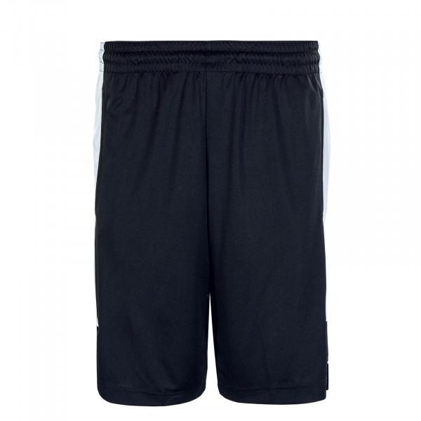 Herren Short Air Dry Knit Black White