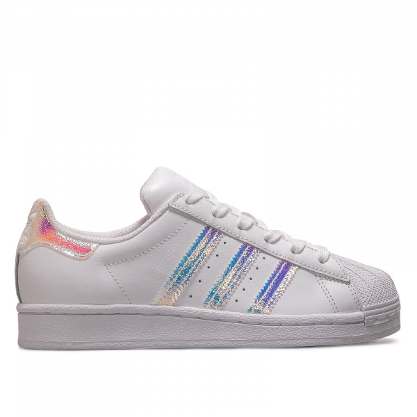 Damen Sneaker Superstar J White Holo