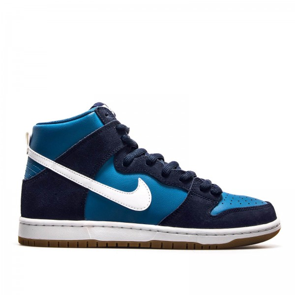 Nike SB Zoom Dunk High Pro Navy Blue Wht