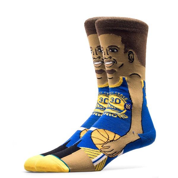 Stance Socks NBA S. Curry Blue Beige