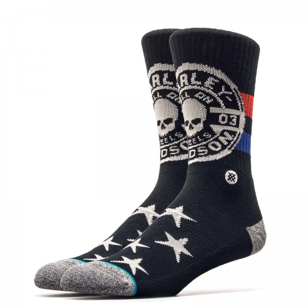 Stance Sock Harley Hell On Wheels Black
