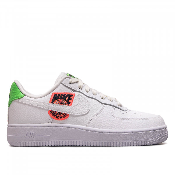 Damen Sneaker Air Force 1 07 SE White Flash Crimson