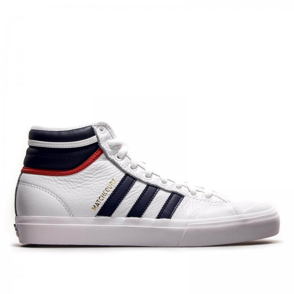 Adidas Skate Matchcourt High White Navy