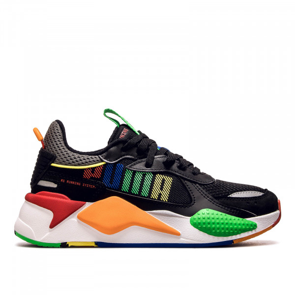 Unisex Sneaker RS-X Bold Black White Orange