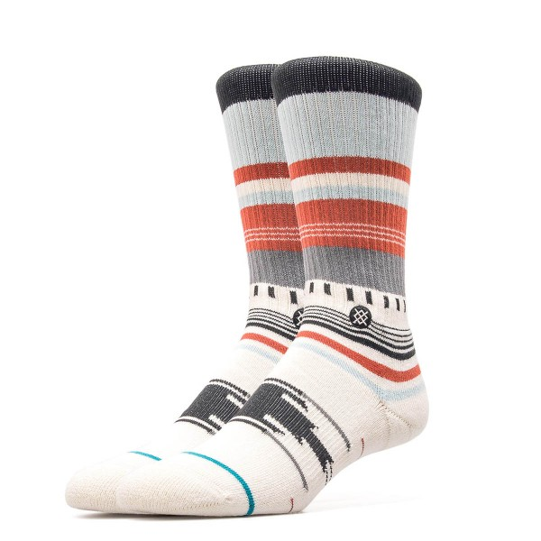 Stance Socks Foundation Cruz Beige Red