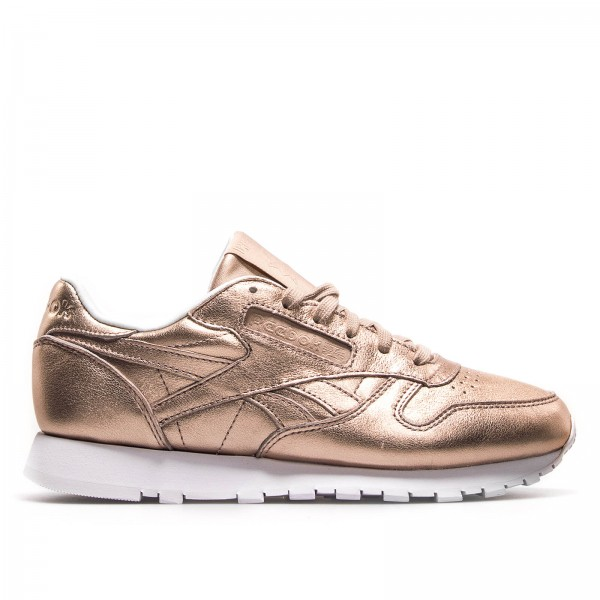 Reebok Wmn CL Lth Melted Metal Peach